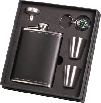 Flask Set-Gift Boxed